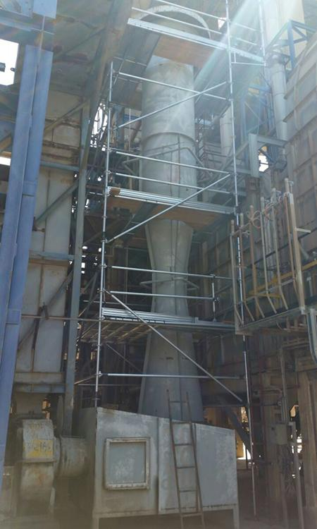 Chemical Industrial Scaffolding Project, Israel