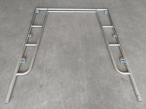 Scaffolding Walk Thru Frame-Slide Lock